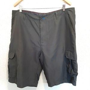 Burnside Charcoal Gray Shorts Size 38